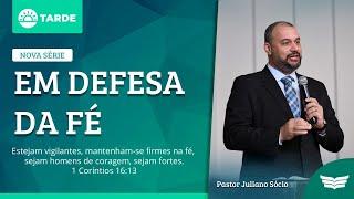 Bem vindo ao culto da Tarde | Rev. Juliano Socio - Filipenses 1.3-26