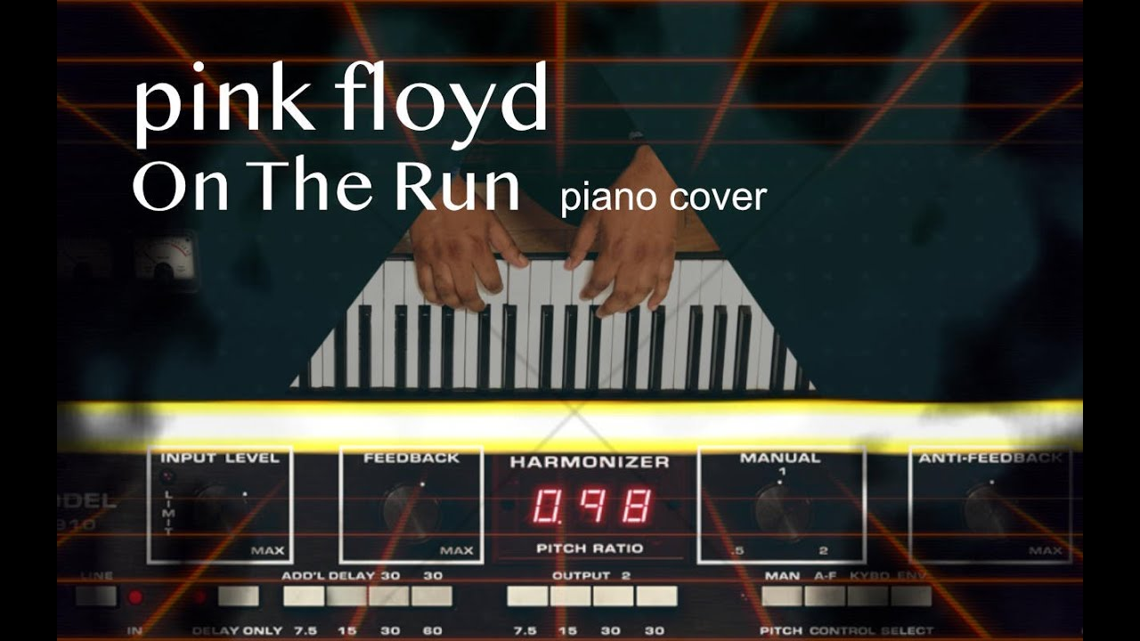 On The Run - Pink Floyd - Keyboard Cover by Ranjit Souri