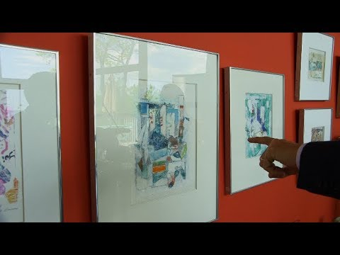 Colored Xerox and 3-Dimensional Paintings: Examples of Boris Aronson's Artwork