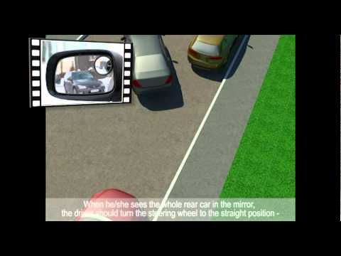 Parallel parking  the easiest way  YouTube