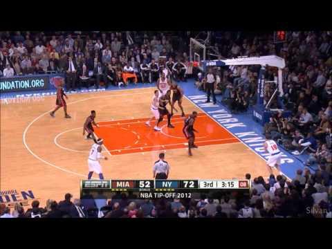 New York Knicks all 19 Three-Pointer vs Miami Heat - 02/11/2012