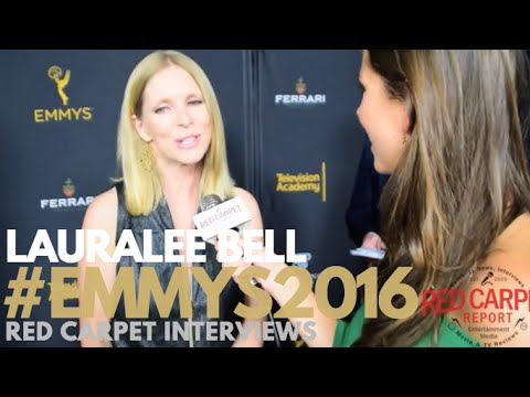 Lauralee Bell interviewed at the Stars of Daytime TV Celebrate Emmy Season Event #Emmys