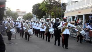 Royal Bahamas Police Force Band @ The RBPF Christmas Beat Retreat 2012 #003