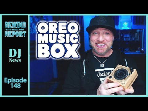 Oreo Turntable Music Box - The Rewind Report w/ DJ Michael Joseph e148 Mp3