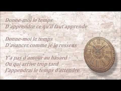 Jenifer - Donne-moi Le Temps [Lyrics]