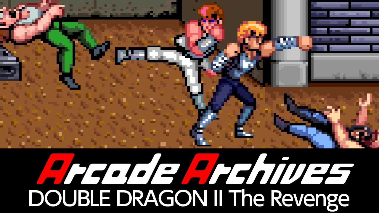 Arcade Archives Double Dragon Ii The Revenge Youtube