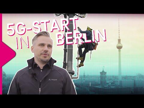 Social Media Post: Telekom legt Grundstein für 5G Rollout in Deutschland
