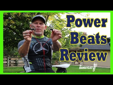 Power Beats Review.  The Best Headphones While Riding A Bike.