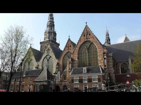 bell ringing old church red light district Amsterdam netherland