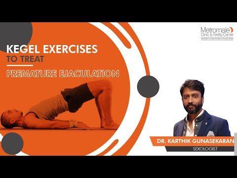 Kegel Exercises to treat Premature Ejaculation | Metromale Clinic & Fertility Center