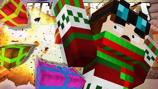 Minecraft | BLEW UP SANTA'S SLEIGH!! | Xmas Accident Custom Map