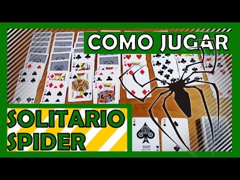 Cómo jugar Solitario Spider