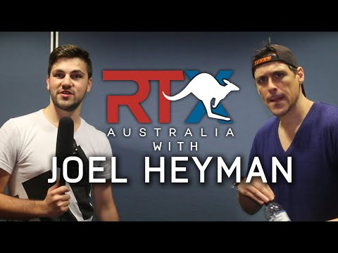 JOEL HEYMAN INTERVIEW AT RTX AUSTRALIA!