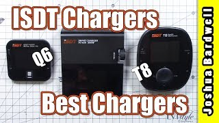 ISDT Q6 and T8 Battery Charger Review | BEST LIPO CHARGER FOR THE MONEY