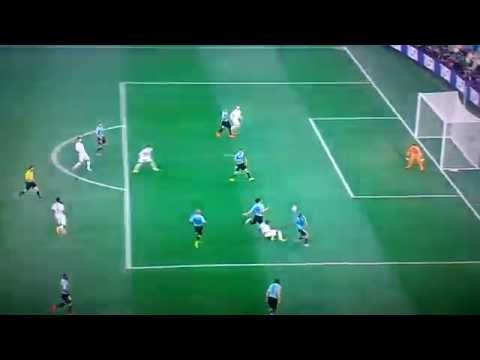 Goal Rooney (Uruguay 1-1 England)