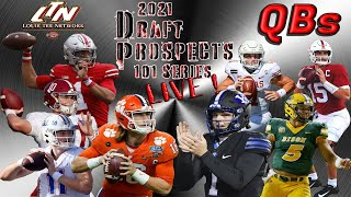 Draft Prospects 101 LIVE!   |   2021 NFL Draft QBs   |   Analysis, Rankings, \u0026 MORE❗