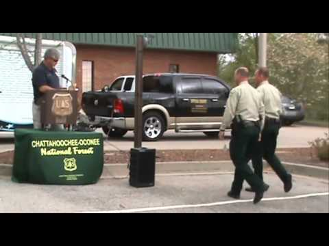 Honors and memorial, fallen USFS Law Enforcement Officer