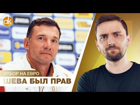 Украина НА ПУТИ к Евро-2020! Всем не понравилось, а Шева был прав