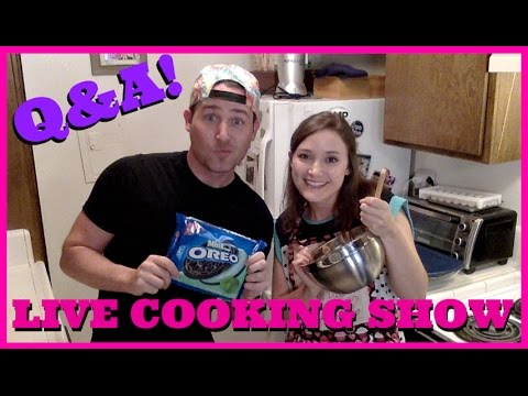 LIVE COOKING SHOW Q&A (with Josh!) // Erin Elyse Live Stream