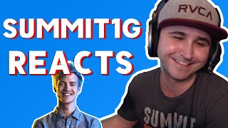 Summit1G - Reacts To Ninja Reacting to Summit Fortnite Skin