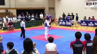 山田美諭 青(T-DAITO)vs 戸丸双葉 赤(明治)