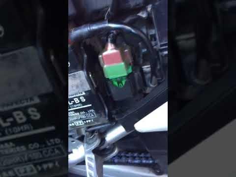 Honda CRF starter relay switch