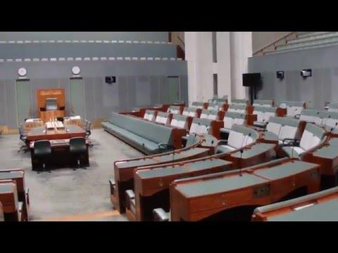 Parlamentas, Atstovu rumai. Kanbera :) Vaivos video
