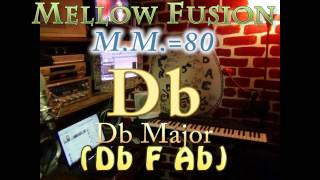 db major (db f ab) mellow fusion - m.m.=80 - one chord vamp