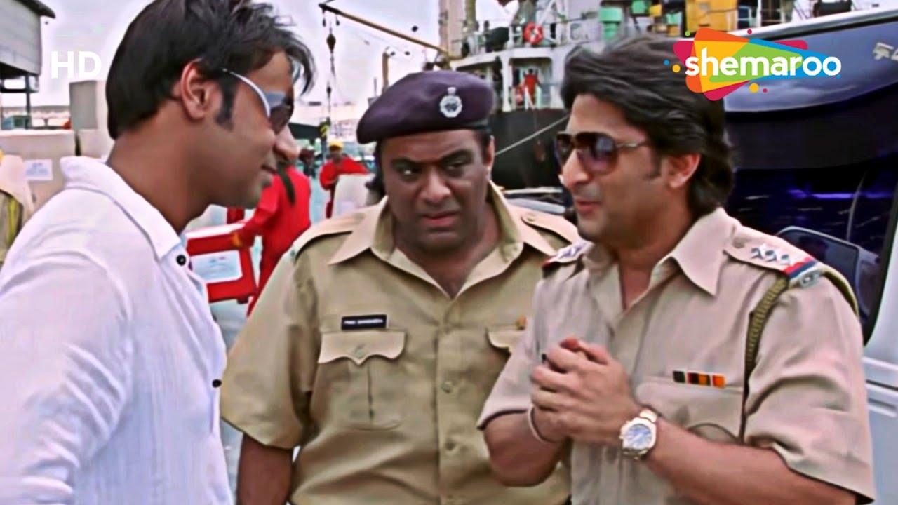 Download Best of Scenes Superhit Movie Golmaal Returns   अजय देवगन के दफ्तर में पड़ गई रेड   Arshad  Warsi