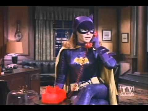 To the Batphone, Batgirl!