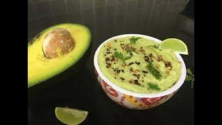 Avocado Hummus | Healthy dip for Pita and chips