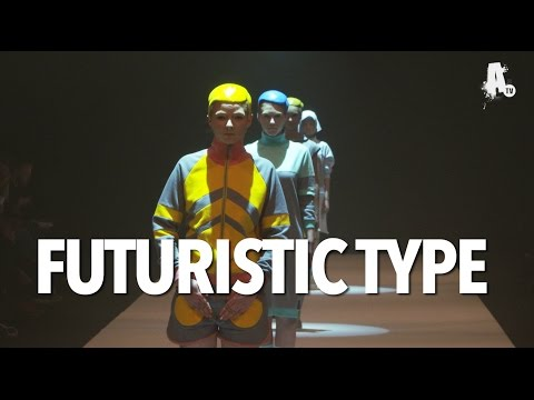 Berlin Alternative Fashion Week Sept. 2015 - FUTURISTIC TYPE [OFFICIAL]
