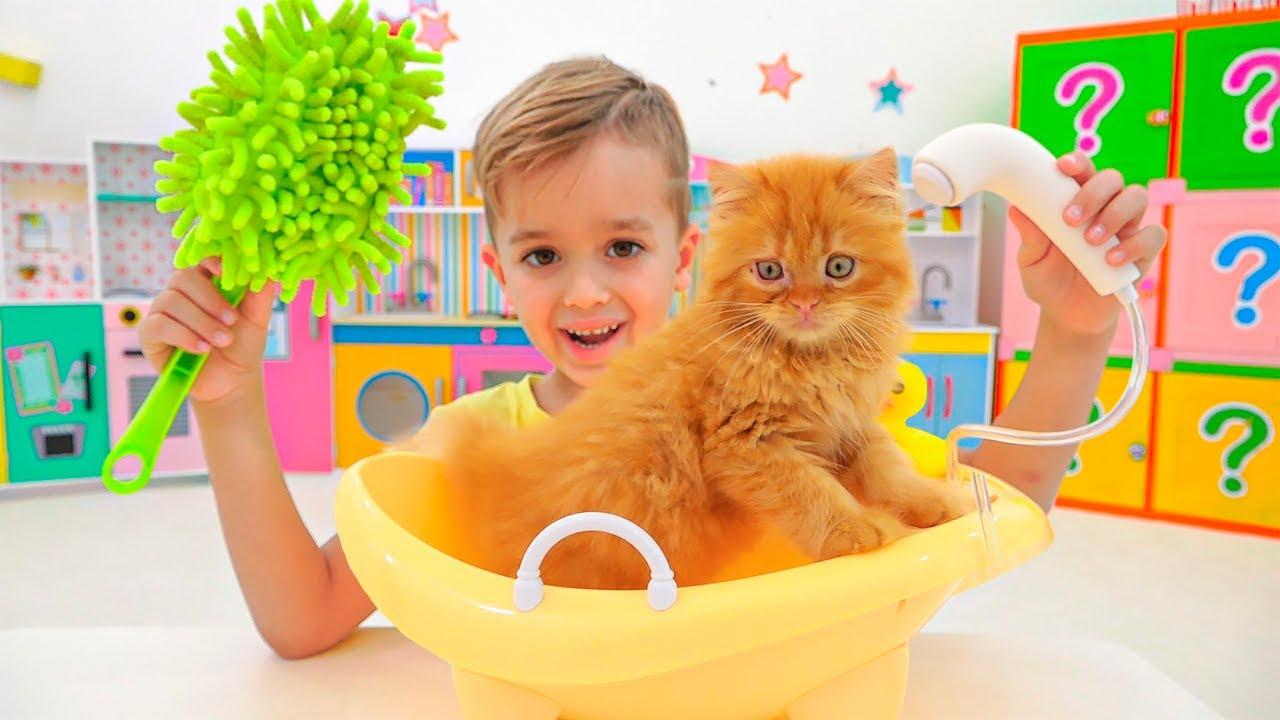 Vlad và Niki chơi với đồ chơi - Video tuyển tập dành cho các bé