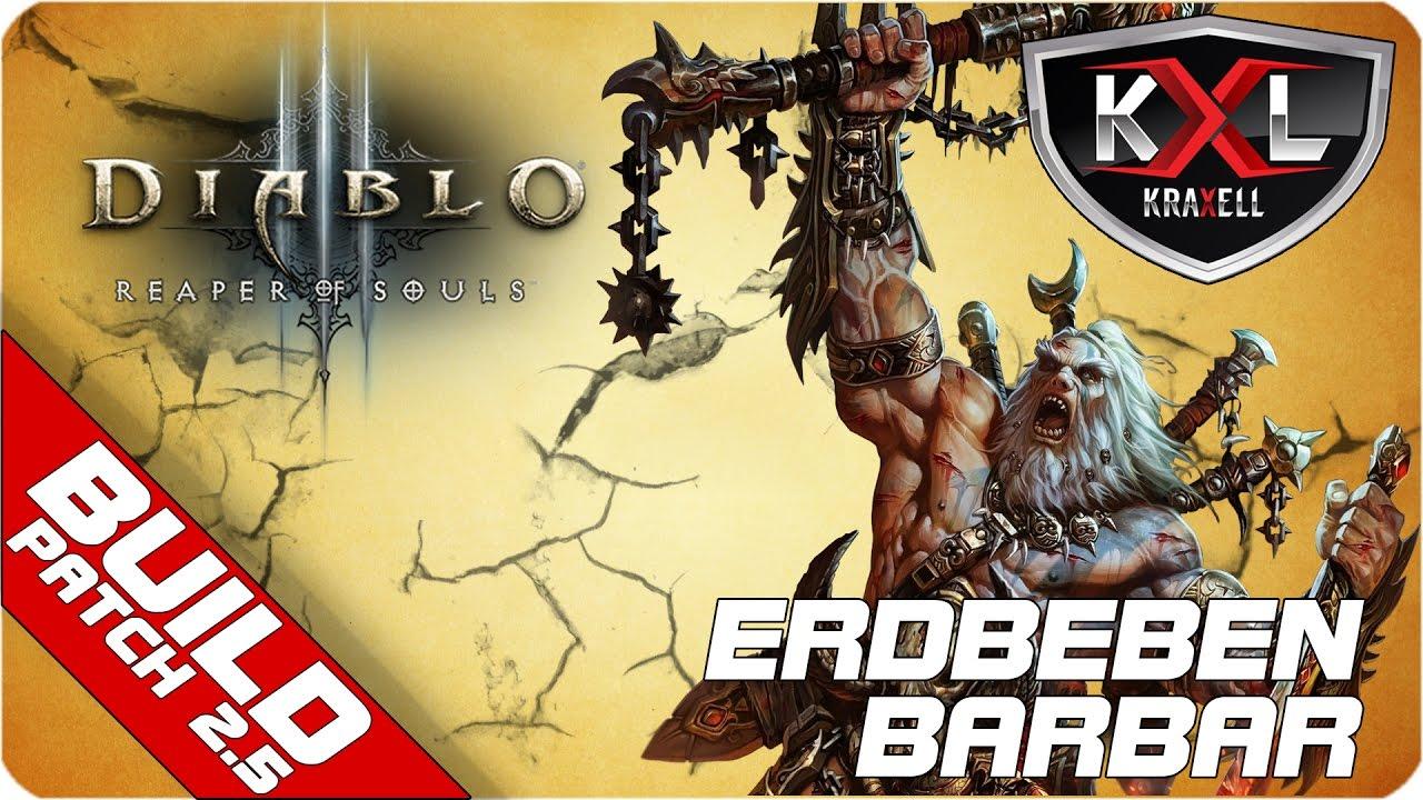 Diablo 3 Ros Season 10 Patch 2 5 Erdbeben Barbar Gr 90 Let S Build