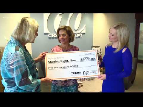 Starting Right, Now recieves a $5K grant to help homeless youth