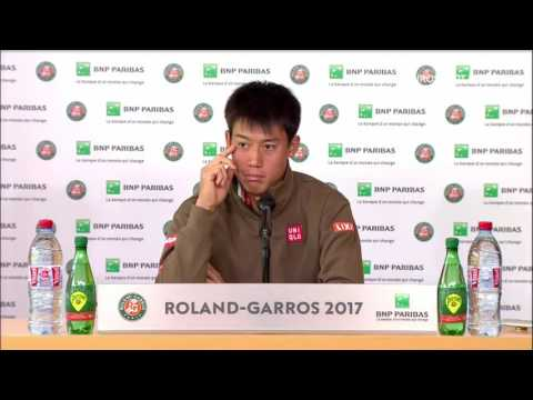 Kei Nishikori Press Conference RG17 - 4th of June