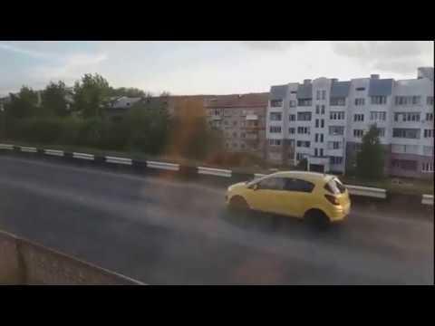 Поездка на поезде от Архангельска до Бабаево