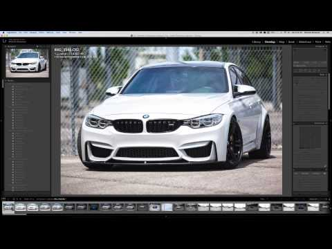 How I Edit a Car Photo in LightRoom