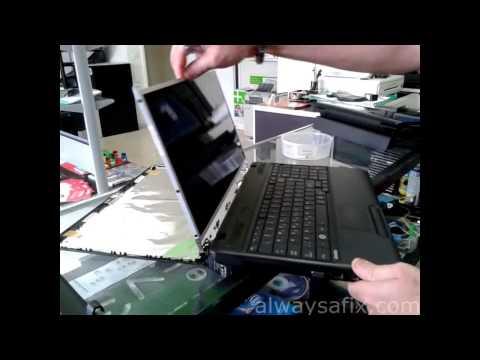 Laptop broken screen repair Toshiba