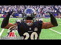 Madden 16 My Career FS Ep.57 BEST STATS EVER!!! AFC Championship!!!
