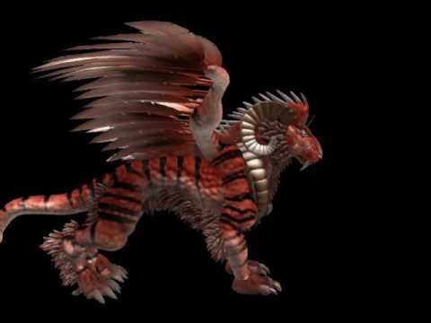Spore tiger dragon hybrid - YouTube