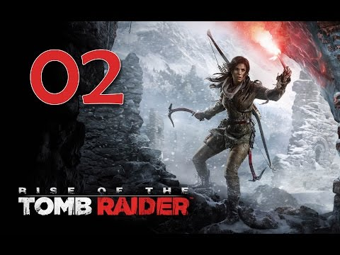 Rise of the Tomb Raider PC 100% Walkthrough 02 (The Prophet's Tomb) The Lost Tomb