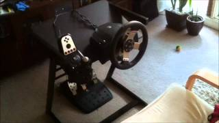 Home Made Steering Wheel Stand For $35
