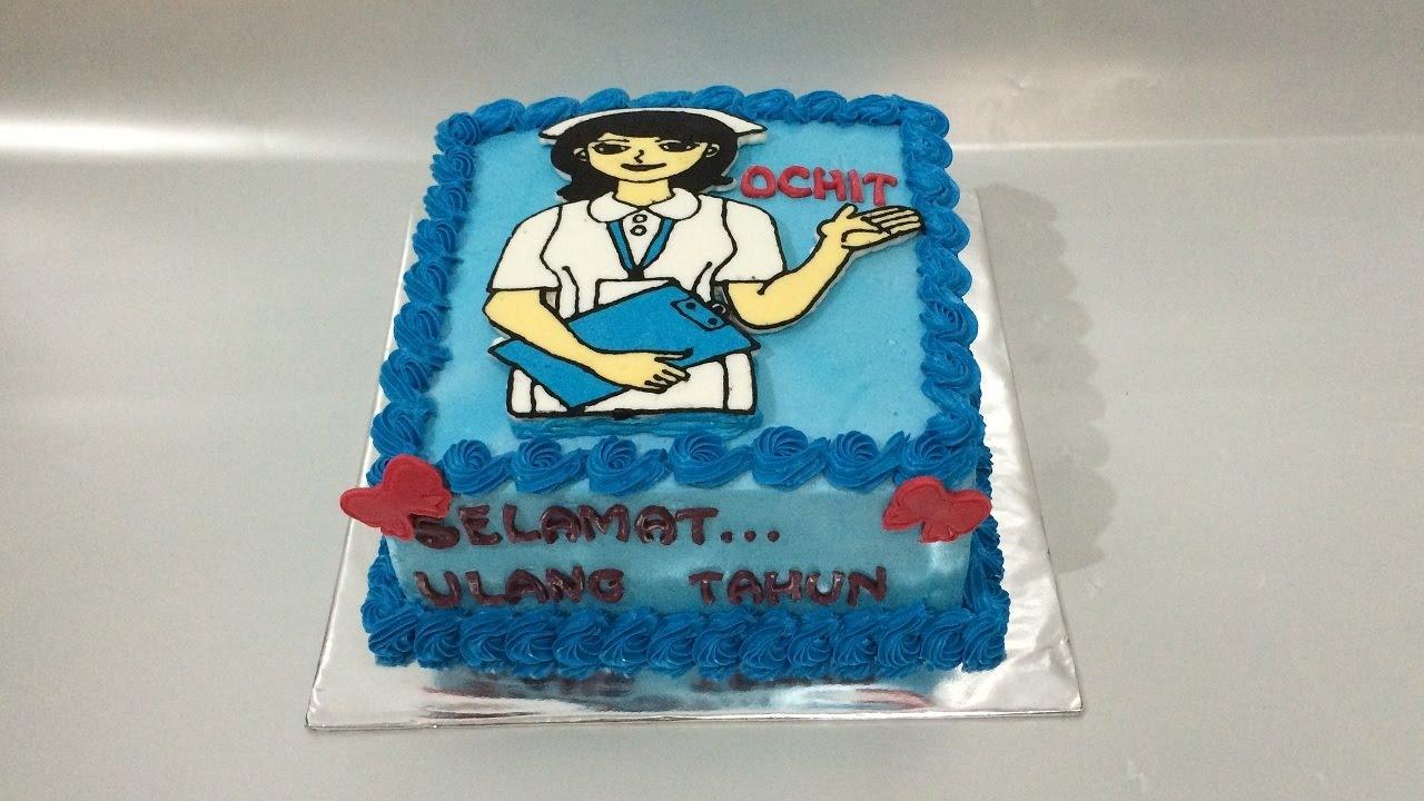 Nurse Cake Bc Transfer How to Make Easy YouTube