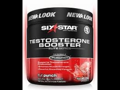 Testosterone Booster Powder REVIEW Six