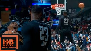 Team LeBron Highlights at 2019 NBA All-Star Practice