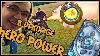 8 damage hero power ?!   Odd mage   Rastakhan's Rumble   Hearthstone