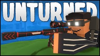 ISLAND BASE COUNTER RAID! (Unturned Survival)