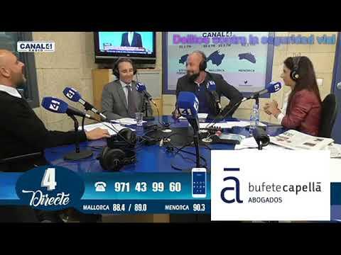 Bufete Capellà - Canal4 Radio - Delitos contra la seguridad vial