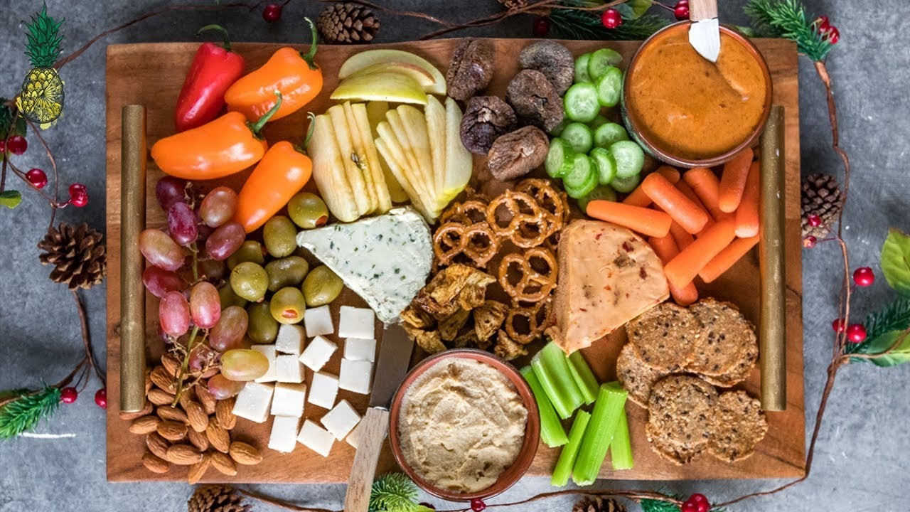 How To Make The Best Holiday Party Platter Vegan Youtube